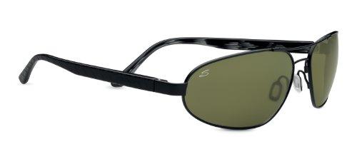 Serengeti eyewear lunettes de soleil monza Noir - Noir satiné