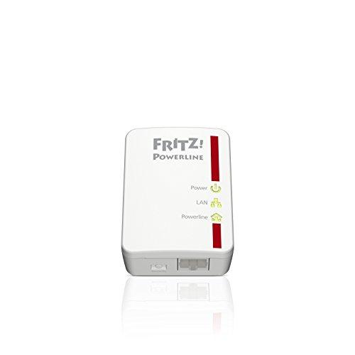 31HzFFJROCL - AVM Fritz Powerline 510E Set (500 Mbit/s, Fast-Ethernet-LAN, internationale Version)