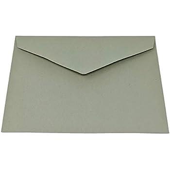 50/St/ück Vintage Gr/ün 125/mm x 175/mm Gummierung 135/GSM Luxus-Gru/ßkarte Farbige Umschl/äge gr/ün GF Smith colorplan Papier.