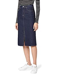 find. Women's Denim Midi_AMZ639 Skirt
