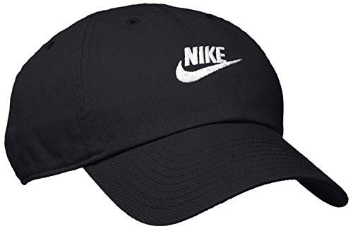 Nike Sportswear Heritage 86 Cap, Black/Black/White, One - Heritage Nike 86