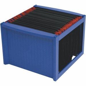 Helit Hängemappenbox 36x38x27,2cm blau/blau