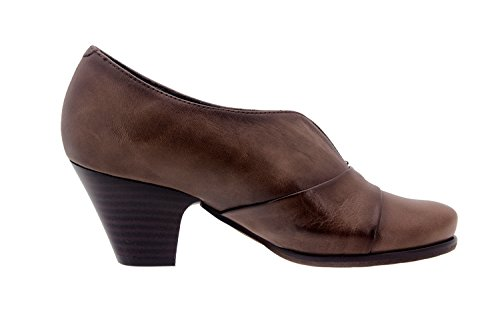 Chaussure femme confort en cuir Piesanto 3433 casual comfortables amples Taupe