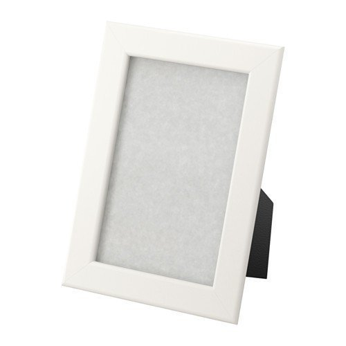 Ikea FISKBO Rahmen in weiß; (10x15cm); 10 Stück