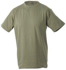 Kids Basic T-Shirt, Größe:L (134/140);Farbe:Khaki (T-shirt Khaki-erwachsenen)