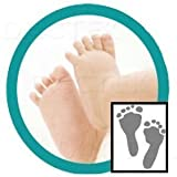 Deluxe Baby Inkless Footprint Kit with W...