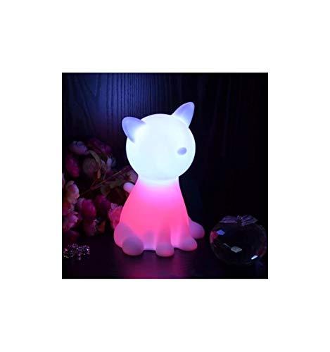 Lampe de chevet chat LED sans fil multicouleurs KOSILUM - IP20 - Classe énergétique : A - - - - Blanc - Descriptif technique du luminaire :Culot de l'ampoule :LED intégrée | Nombre d'ampoules : LED intégrée | Indice de protection : IP20 | Puissance : | Tension : | Poids du luminaire : | Poids du colis : 0,42 kg - KOSILUM
