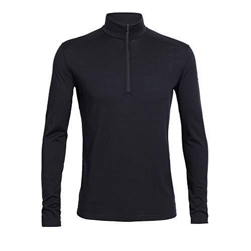 Icebreaker 200 Oasis Half Zip Longsleeve Shirt Men - Zipp Shirt Mens Long Sleeve Half Zip
