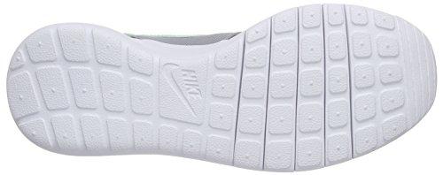 Nike Roshe One (GS), Sneakers basses garçon Multicolore - Mehrfarbig (Cool Grey/Green Strike-Wolf Grey-White)
