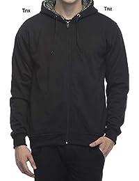 Tnx Men's Cotton Hooded Sweatshirt