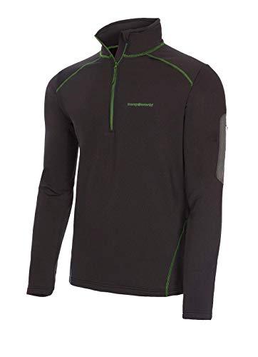 Trangoworld pc008130 – 111 – 2 x l Pullover, Homme, Noir, 2 x l