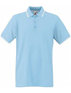 Fruit of the Loom Premium Tipped - Polo para Hombres