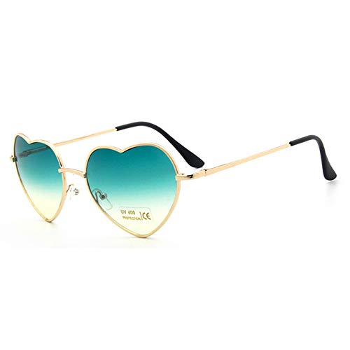 Yangjing-hl Tragbare Faltbare Lesebrille mit Box Herren Damen Faltbare Sonnenbrille Retro Frauen Sonnenbrille Rot Gelb