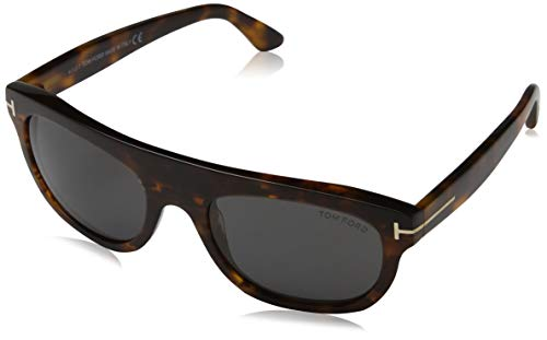 Tom Ford Herren FT0594 52A 55 Sonnenbrille, Braun,