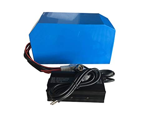 NBPOWER 72V 38.4Ah Lithium Battery,Ebike Battery with BMS and 5A Charger for 8000W Ebike Kit,Ebike Motor.