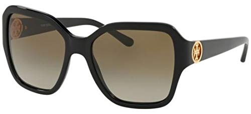 Tory Burch Sonnenbrillen TY 7125 Black/Smoke Shaded Damenbrillen (Burch Tory Sonnenbrille)