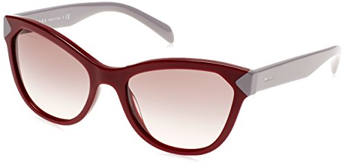 Prada Damen 0PR21SS USH4K0 56 Sonnenbrille, Rot (Amaranth/Pink Grey),