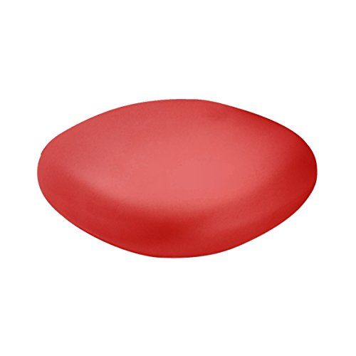 Slide Chubby Low Pouf - Table basse Rouge flame