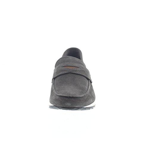 Pantofola in velour Cafè Noir art.QE641 Blu Grau