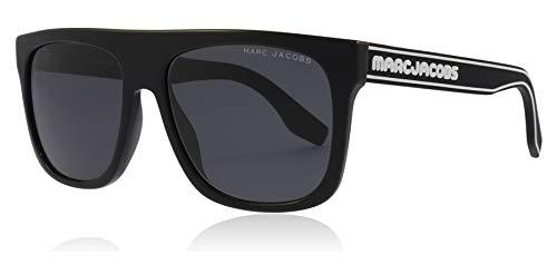 Marc Jacobs MARC 357/S 807 Black MARC 357/S Square Sunglasses Lens Category 3 Size 56mm