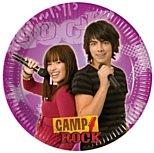 Disney Camp Rock Plates Pck 10 23cm