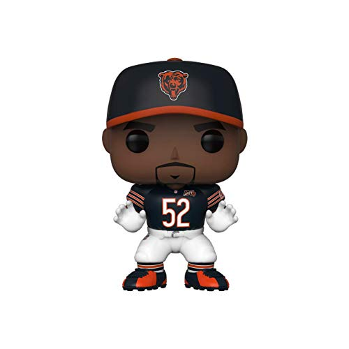 Funko 42872 POP Vinyl: NFL: Bears-Khalil Mack (Home Jersey) Sammelbares Spielzeug, Mehrfarben