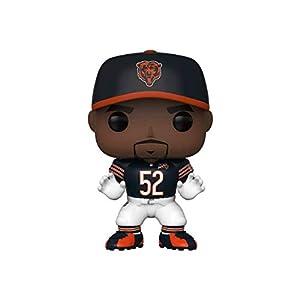 Funko- Pop Figura De Vinil: NFL: Bears-Khalil Mack (Home Jersey) Coleccionable, Multicolor (42872)