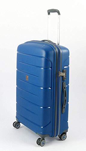 Roncato starlight 2.0 trolley, 71 cm, 80 litri, azzurro