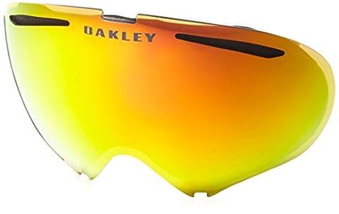 Oakley Snow Goggle Lens A-Frame 2.0 Fire Irid Rep.Lens, Fire Irdium, UNI, 59-686