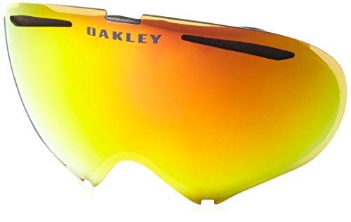 Oakley Herren Snow Goggle Lens A-Frame 2.0 Fire Irid Rep.Lens Irdium, UNI