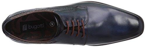 Bugatti - R1901pr1w, Scarpe stringate basse derby Uomo Blu (Blu (dunkelBlu 425))