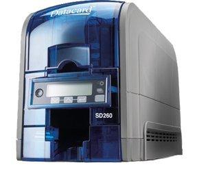 sd260s Single Sided stampante con Mag Stripe Encoder, loosely coupled Identive Contatto/senza contatto Encoder e 100di ingresso Hopper