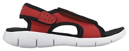 Nike Sunray Adjust 4 (Gs/Ps), Tongs Garçon, Rose, 3.5UK/ 23.0cm Rojo / Blanco / Noir (University Red / White-Black)