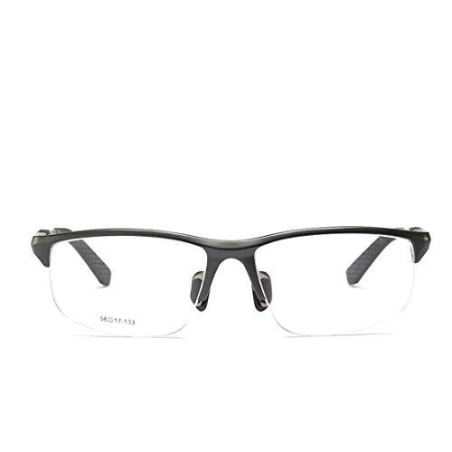 Shiduoli Brillengestell Winddichte Brillen Reitbrille Brillen tragen eine Sportbrille ohne Brille für Damen und Herren (Color : Black)