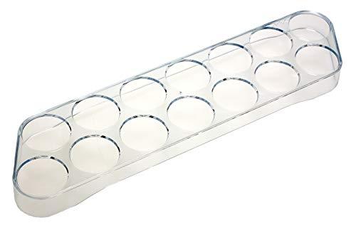 14er Eierhalter 10875 (35 x 9,5 x 2,5cm) Universell für den Kühlschrank