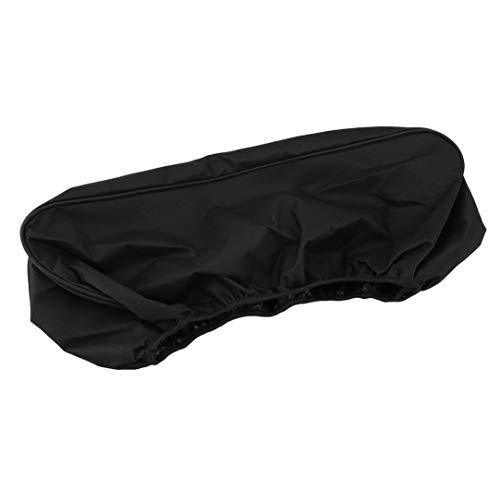 Sairis Wasserdichte Winde Staub-Capstan-Abdeckung Driver Recovery 8000-17500Lbs Abdeckung (Farbe: schwarz)