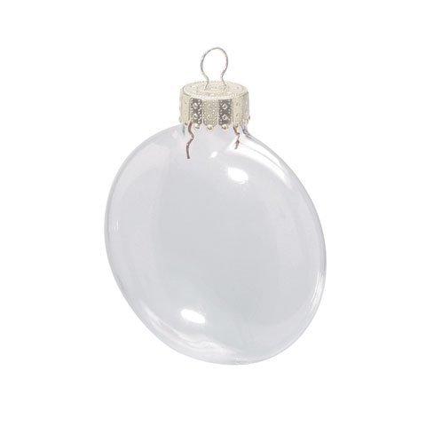 kaufen Bulk Darice DIY Crafts klar Glas Disc Ornaments 31/20,3cm X 6Stück pro Box X 24Boxen