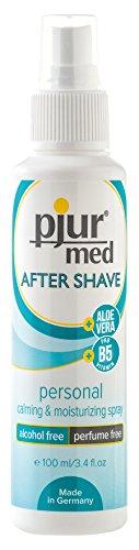 Pjur med Aftershave Spray - Schützt vor Entzündungen und Rasurbrand, 1er Pack (1 x 100 ml)