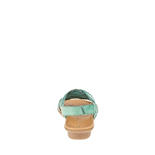 Naturalizer Wendy Large Synthétique Sandale Turquosie