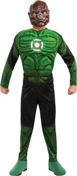 Kostüm Green Lantern Kilowog muskulösen Kind