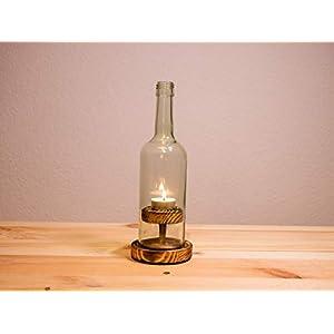 """Weinflaschen – Windlicht,Nr 2 Rustikal"""""""