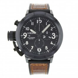 U-Boat 7388 Flightdeck 50 Black Ceramic Chronograph Automatic Men's Watch