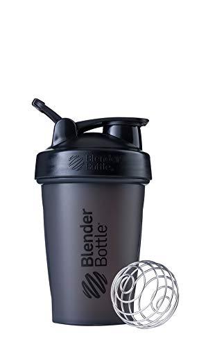 BlenderBottle Classic Loop, Shaker per Frullati di Proteine Unisex, Black, 590ml