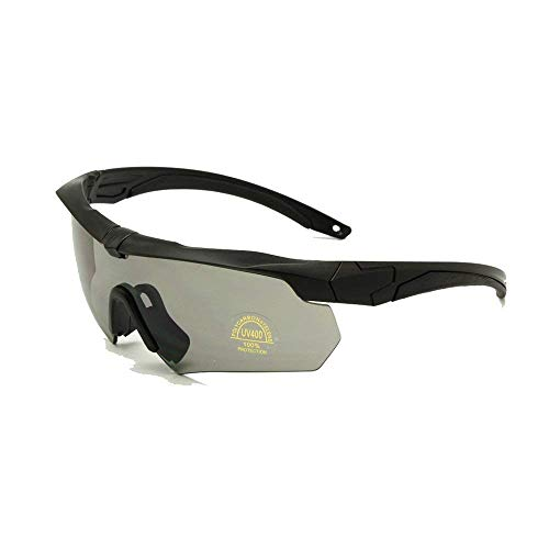 f755d618d9 ZoliTime ESS Crossbow Photochromic Ballistic Eyeshields Gafas (Negro, 3  Lentes)