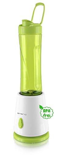 Emerio BL-108357.6 batidora de vaso personal 300 W, 0.5 litros, De plástico, Verde, Color blanco