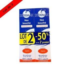 Stérimar Nez Bouché Lot de 2 x 100 ml