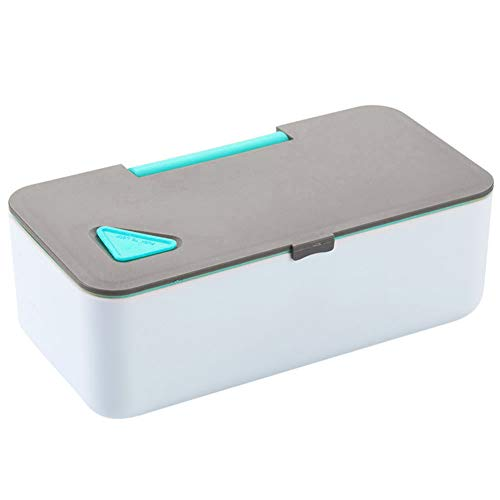 CAheadY Leak-Proof Phone Bracket Microwave Heated Lunch Food Storage Bento Box Container Blue - Erwachsenen-lunch-box Rosa
