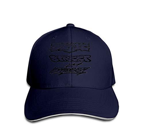 Snapback Hat Sandwich Peaked Cap Durable Baseball