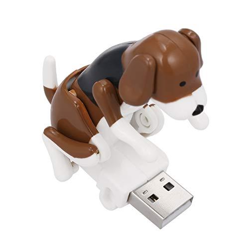 Docooler Mini Lustiger humpender Hund USB angetriebener Rascal-Hund Elektronischer Hund Spielzeug-tragbarer Hundespielzeug druckentlastendes Spielzeug (Rascal Hund Spielzeug)