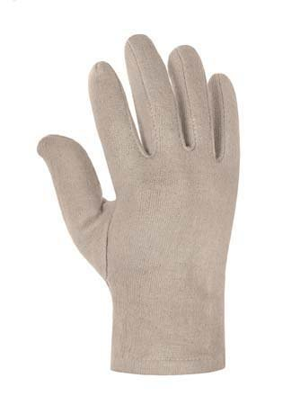 240 Paar BW-Jersey-Handschuhe. mit Innenrauhung natur, natur, Gr.Herren (Handschuh Natur-jersey)